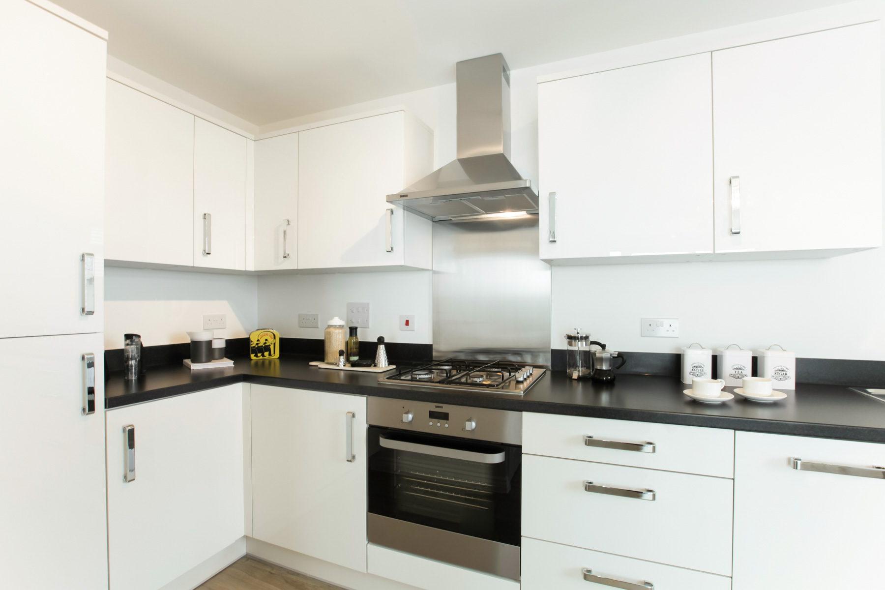 TW Southern Counties_Ark Royal House_Show Apartment_Kitchen