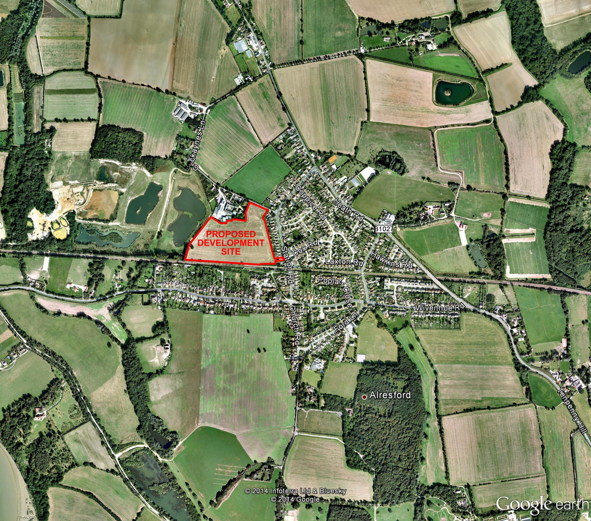Alresford Location Plan Web