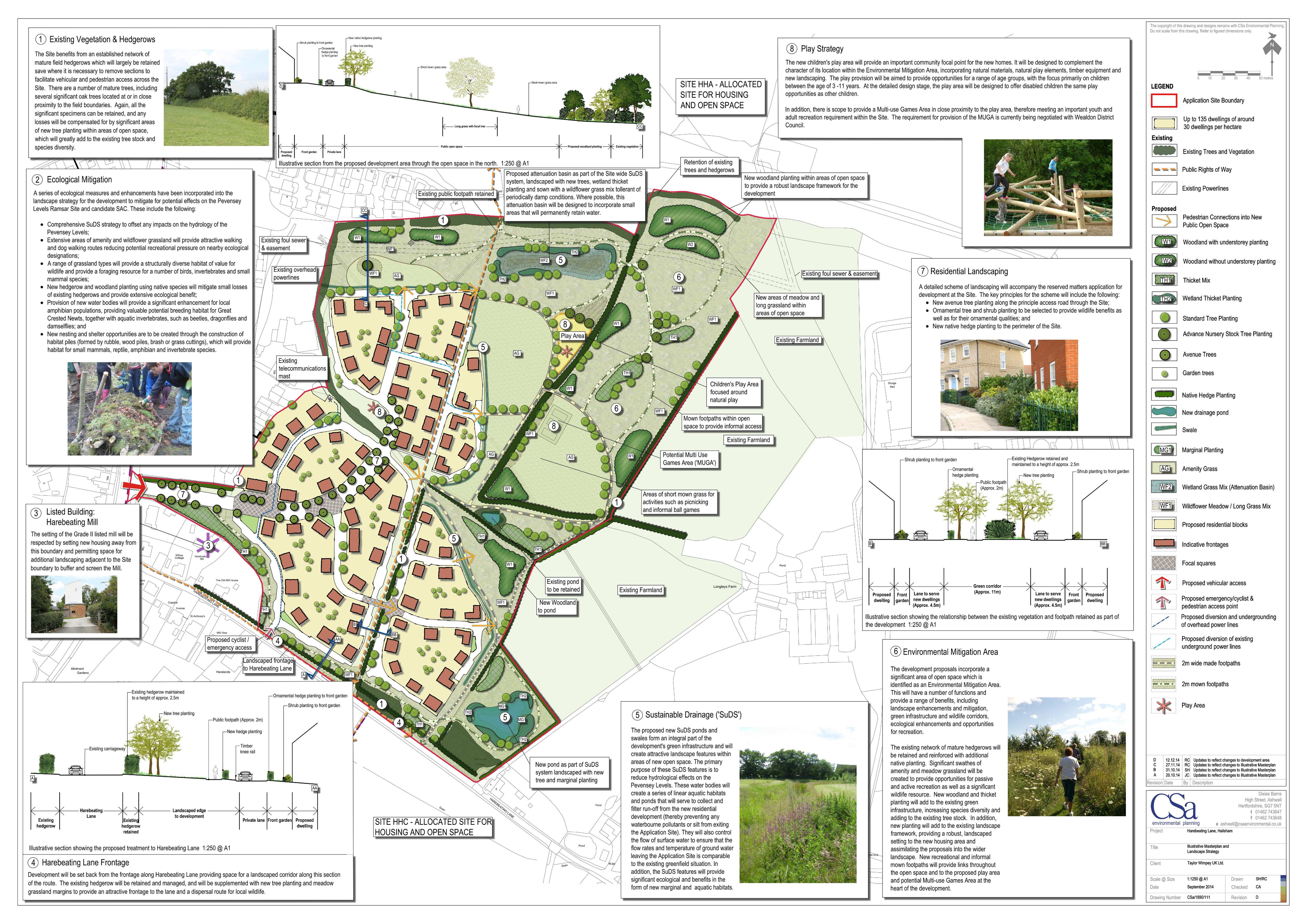Hailsham Submitted Layout Plan Web