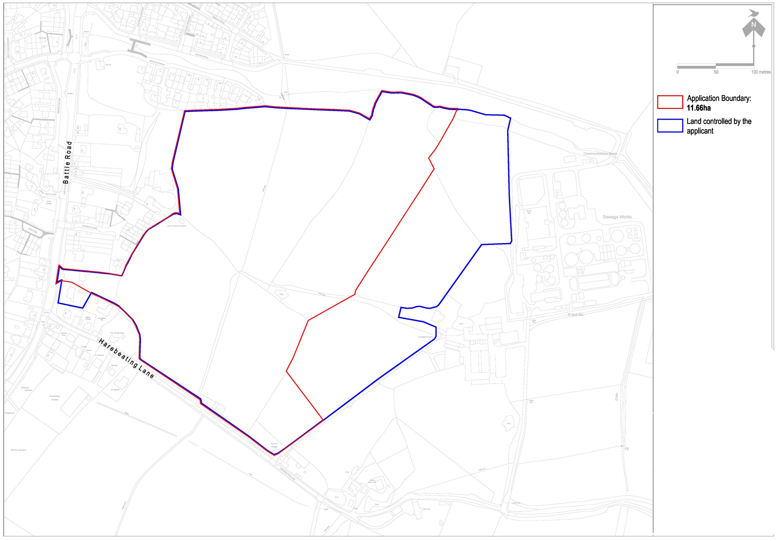 Hailsham Submitted Location Plan Web