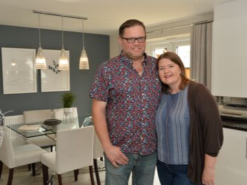 First time buyers find dream home at The Lees