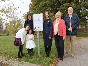 WEB Repton Park play area signage competition winners Taylor Wimpey Persim