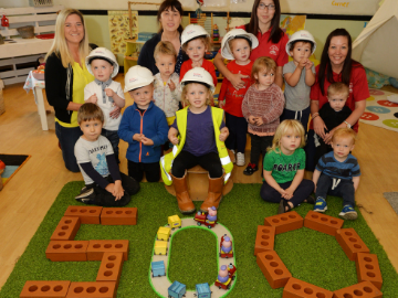 We are proud to support The Lighthouse Kids pre-school