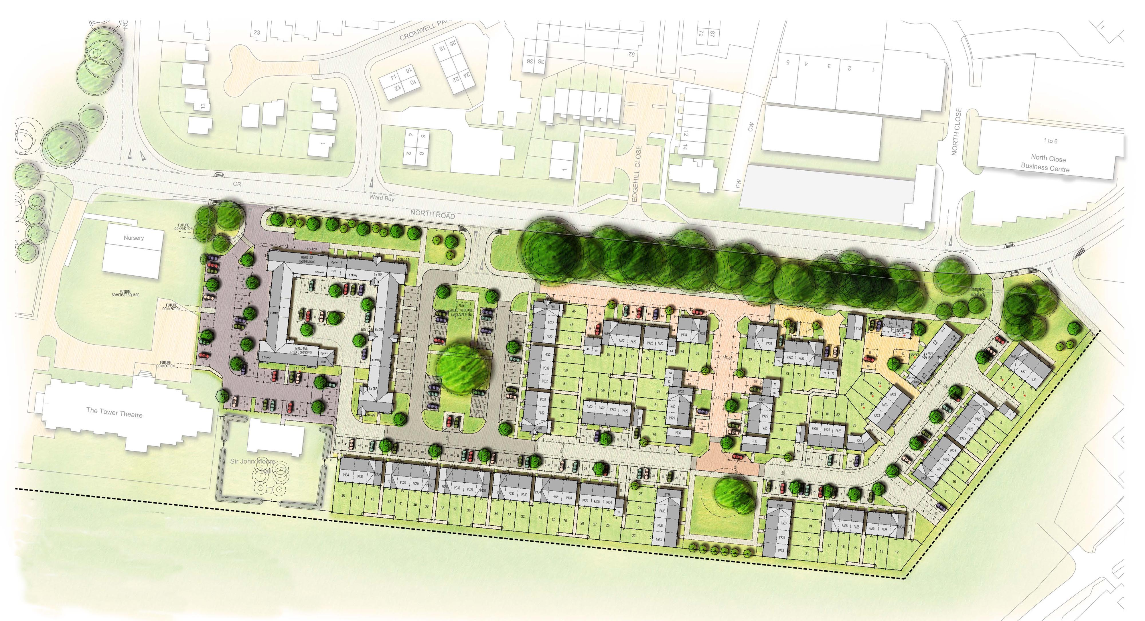 Somerset Layout Plan