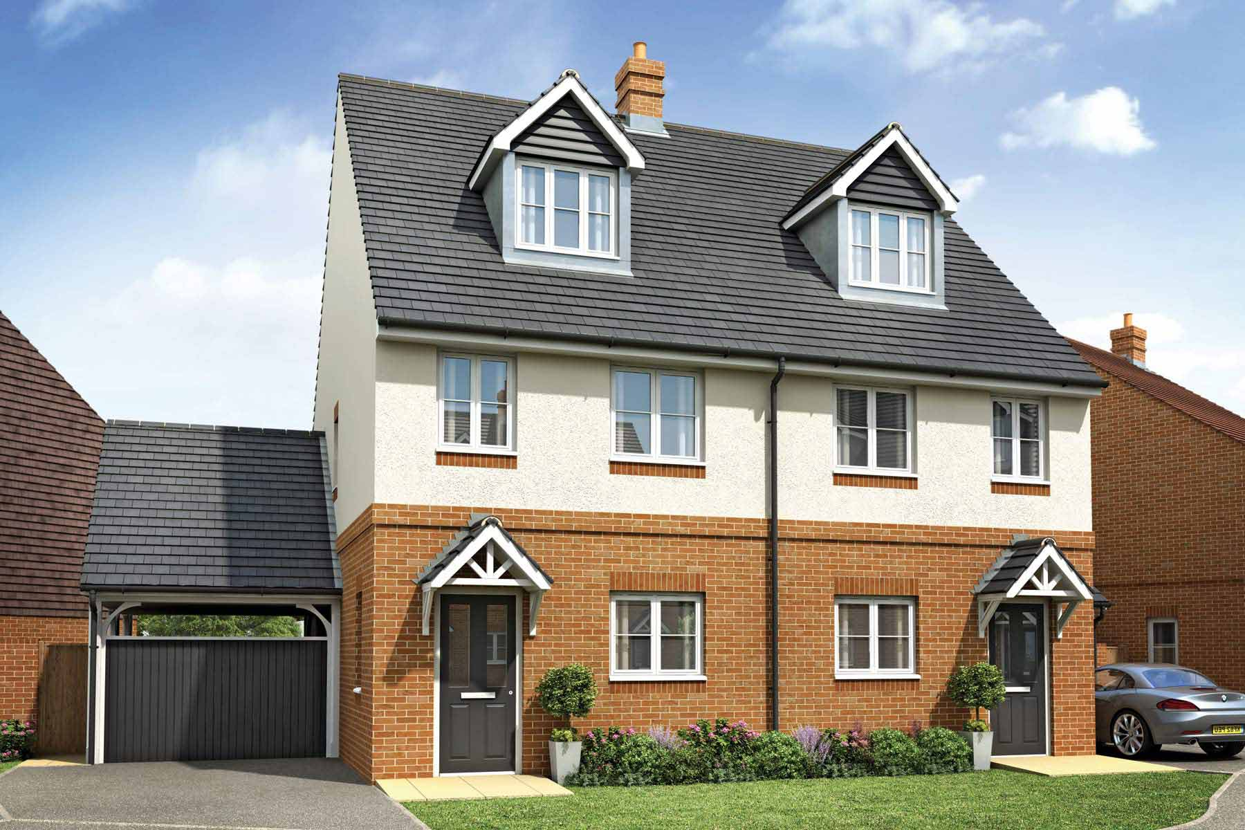 The Orlestone three bedroom home