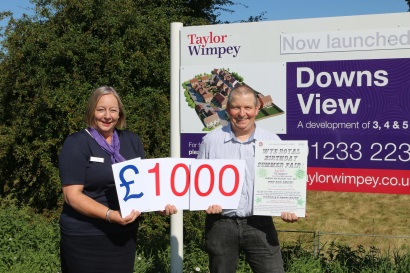 Taylor Wimpey - Downs View - Wye summer fair sponsorship