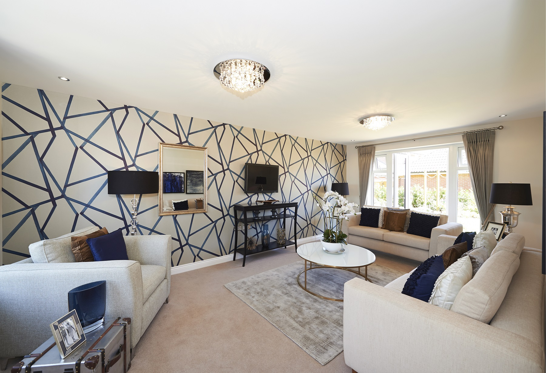 Langley Park - Eskdale - Living room