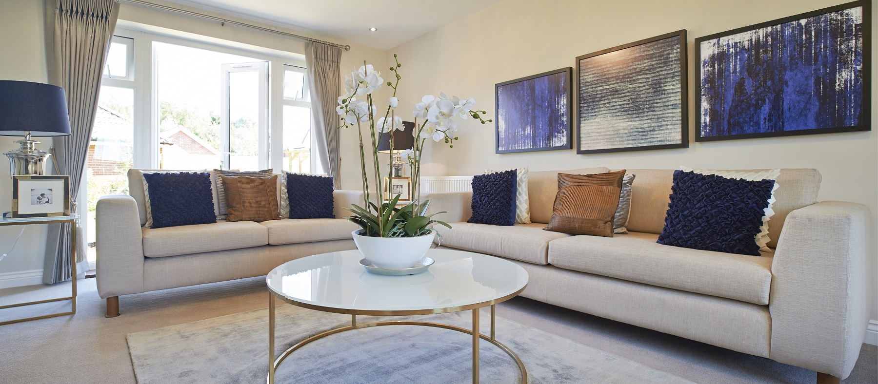 Langley Park - Eskdale - Living room2
