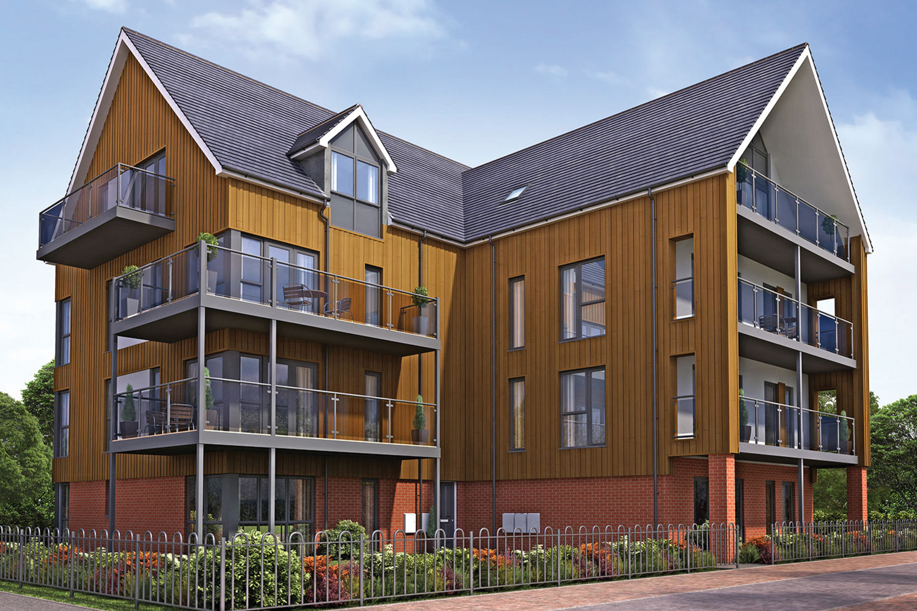 Wells House 1 & 2 bedroom apartments