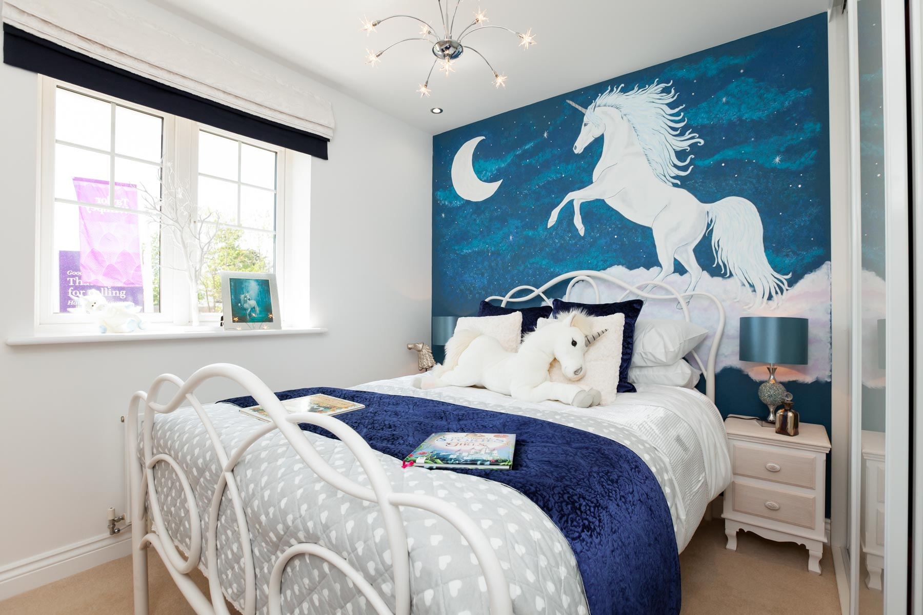 Girls Unicorn Bedroom