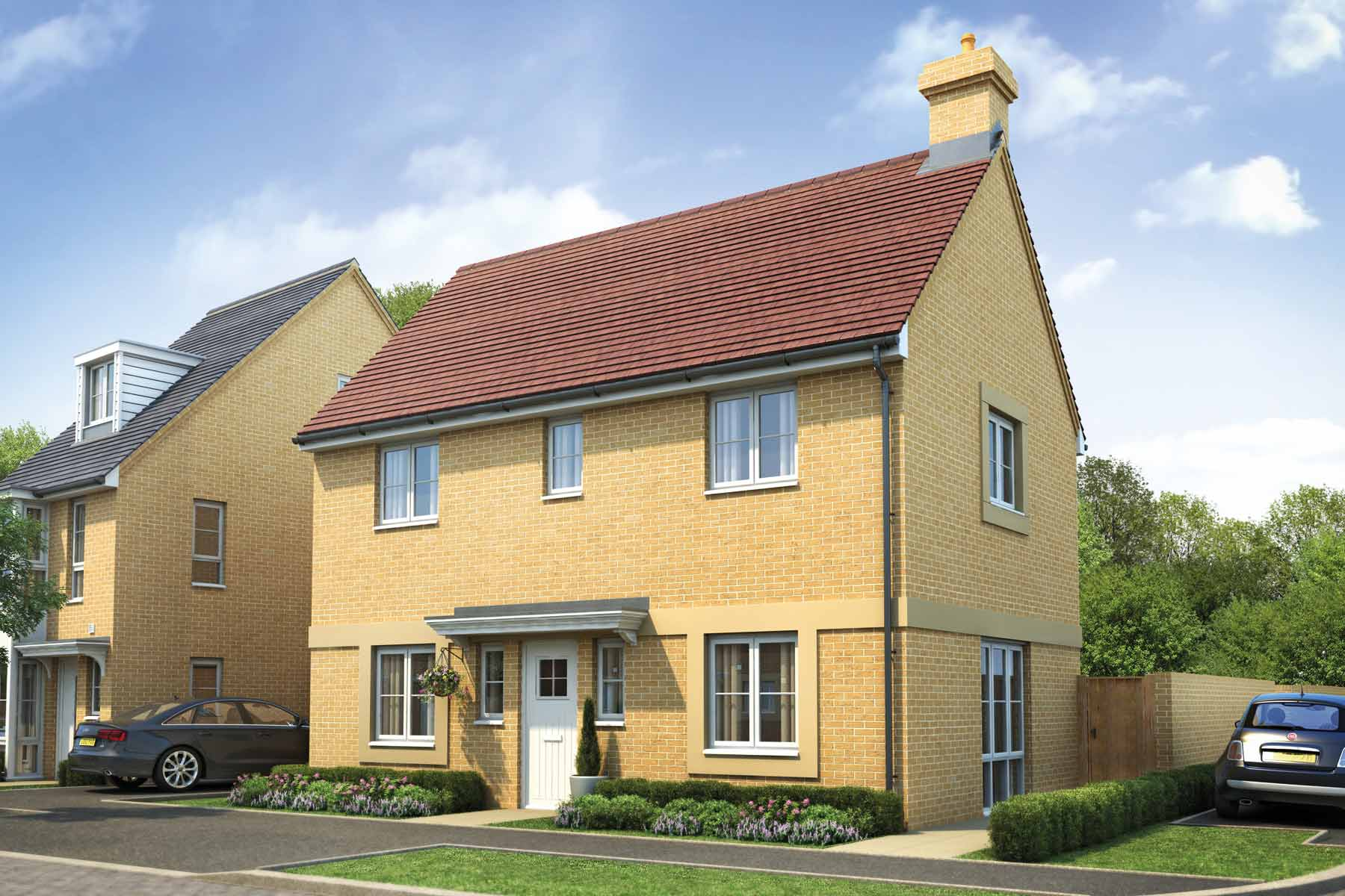 The Linnet three bedroom home at Repton Park.