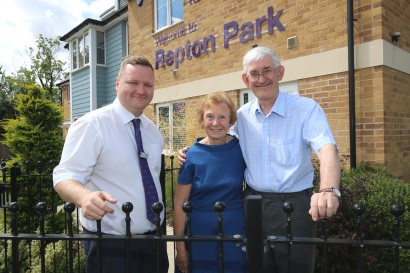 Repton Park - Tony and Glenda Boyd-Williams
