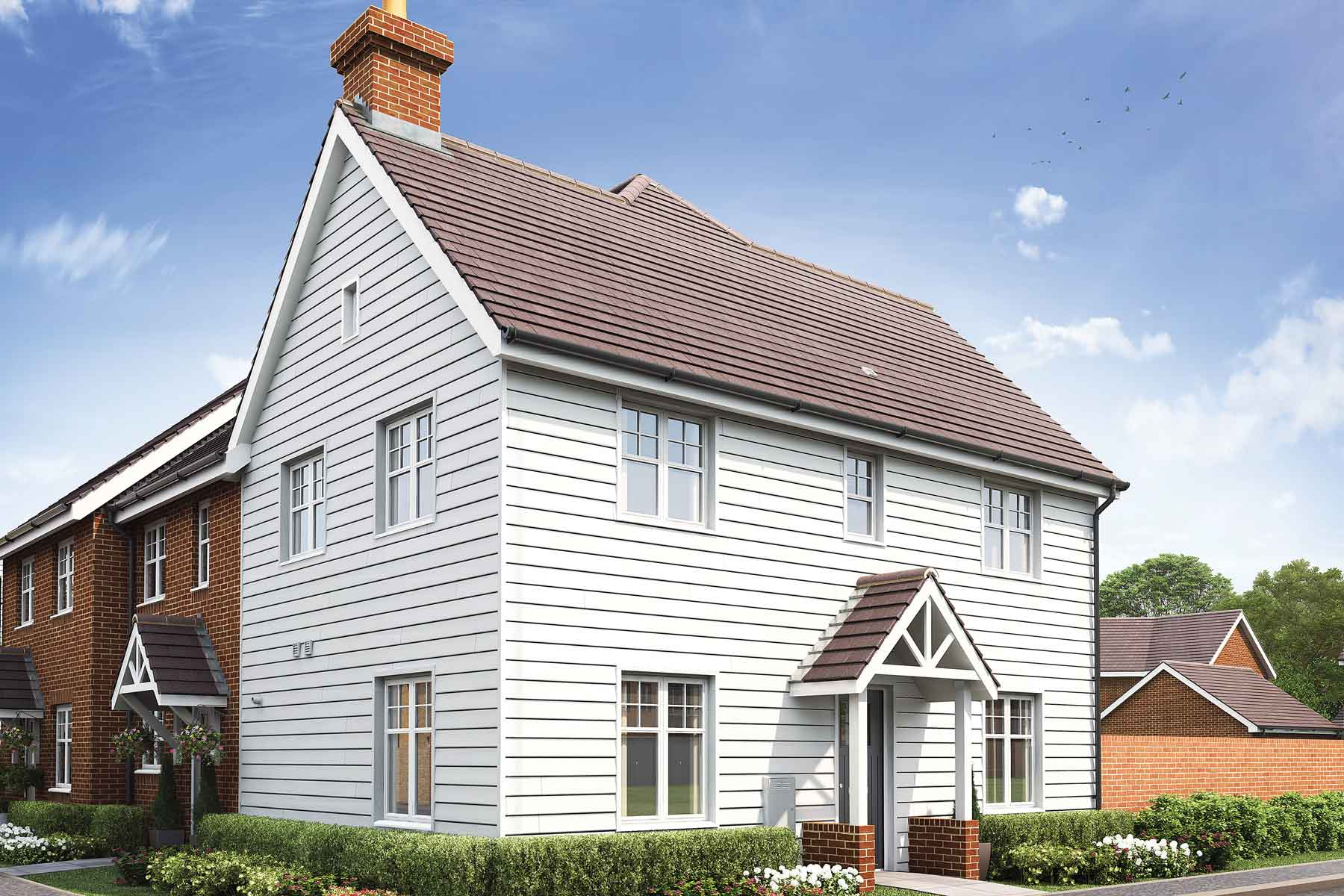 The Easedale three bedroom home