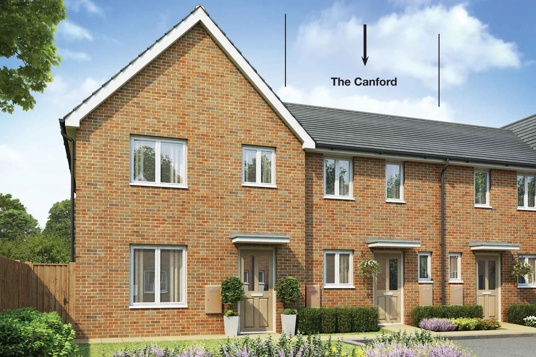 The Canford two bedroom home