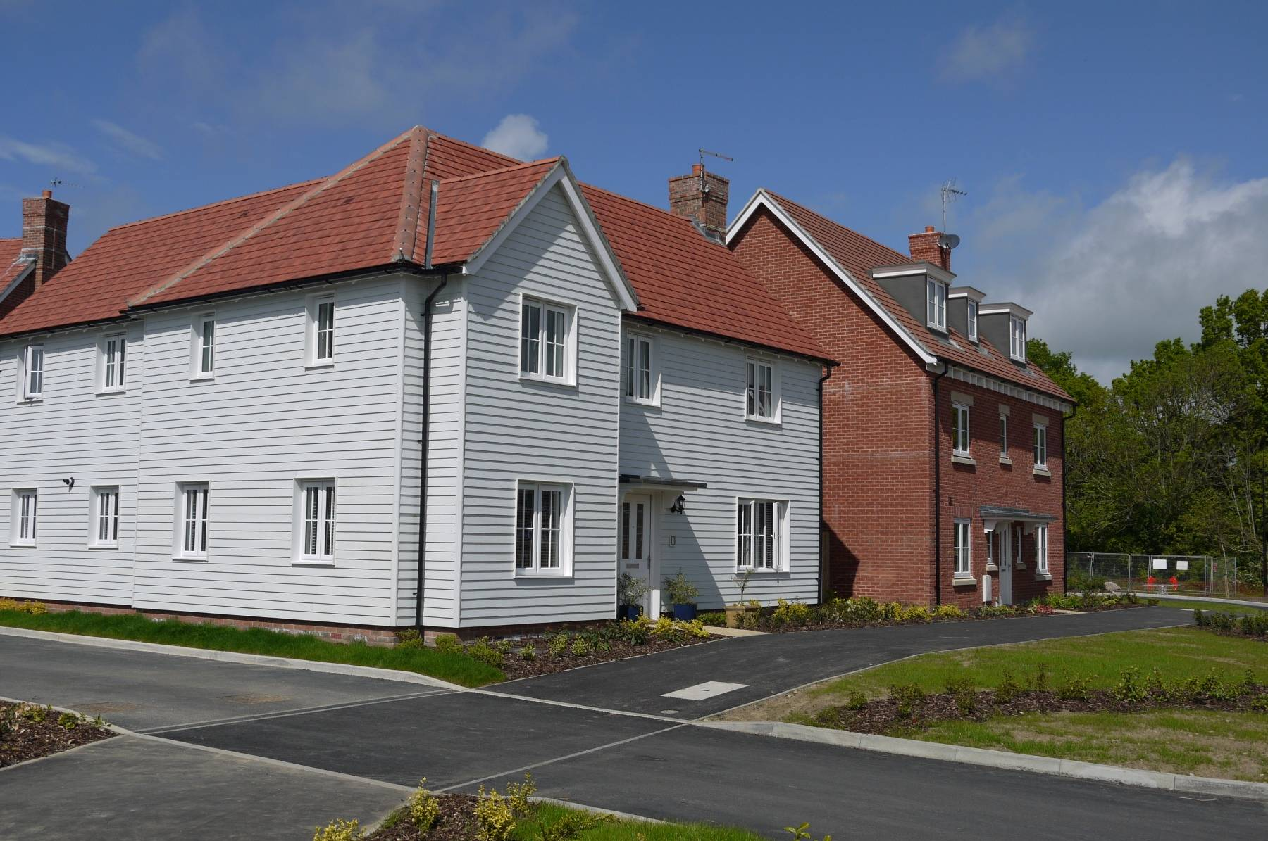 Typical homes at The Mill