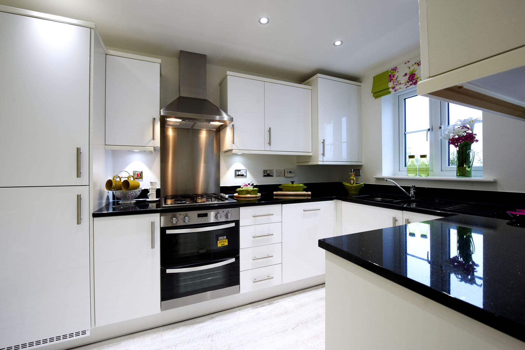 A typical Taylor Wimpey kitchen