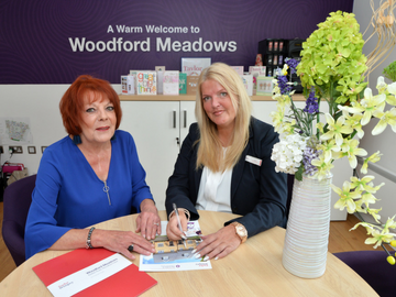 NEWS - TWSM - Woodford meadows - testimonial