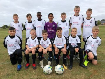 We are proud to support Tattenhoe Youth Football Clb