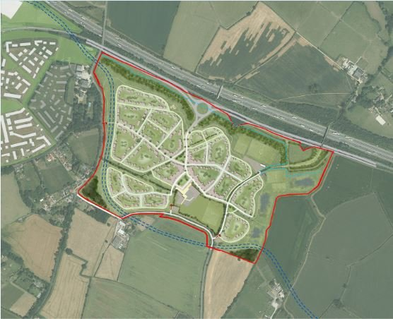 Hayfield Park Illustrative Masterplan