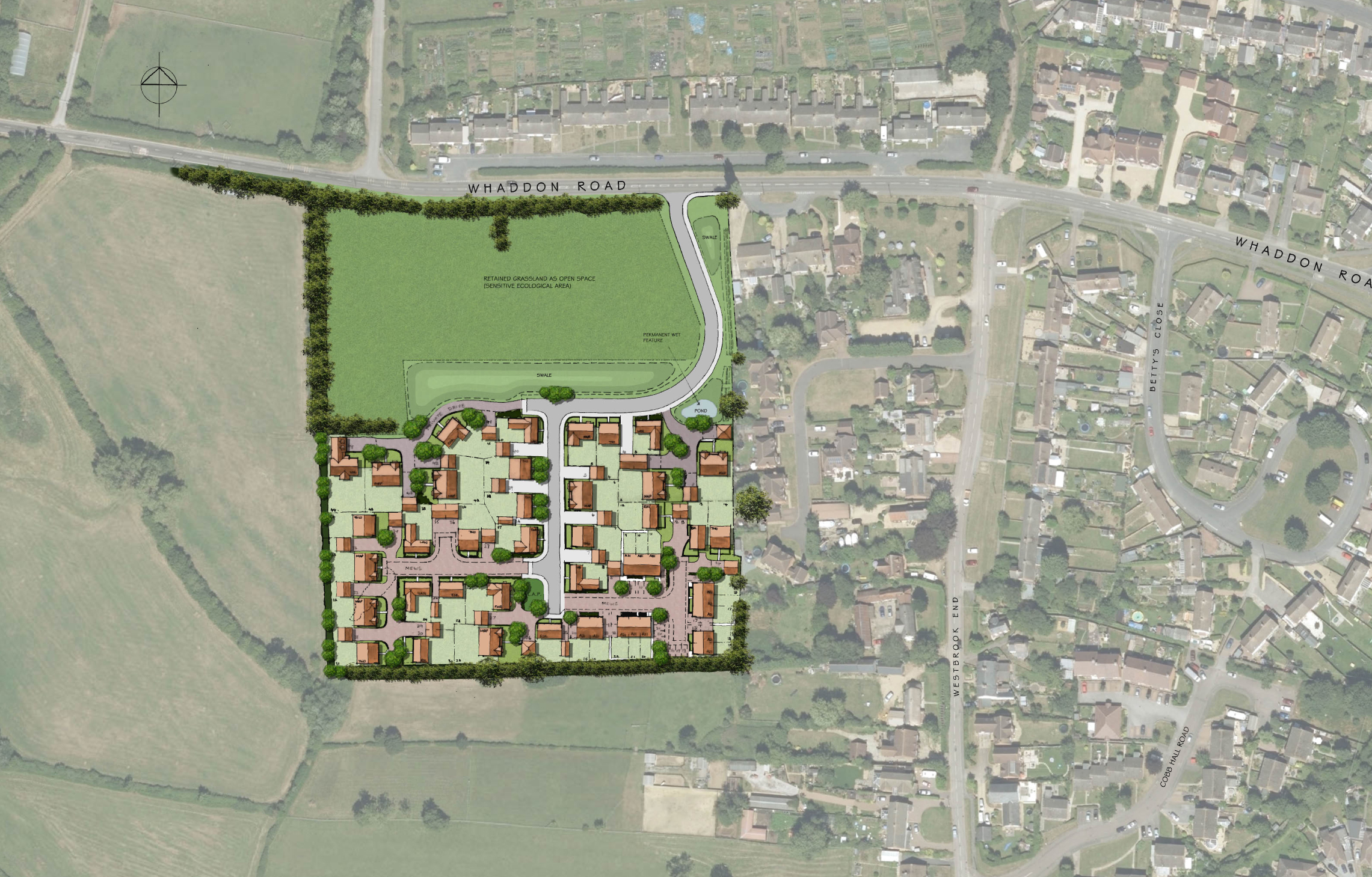 Newton Longville Layout Plan REVISED