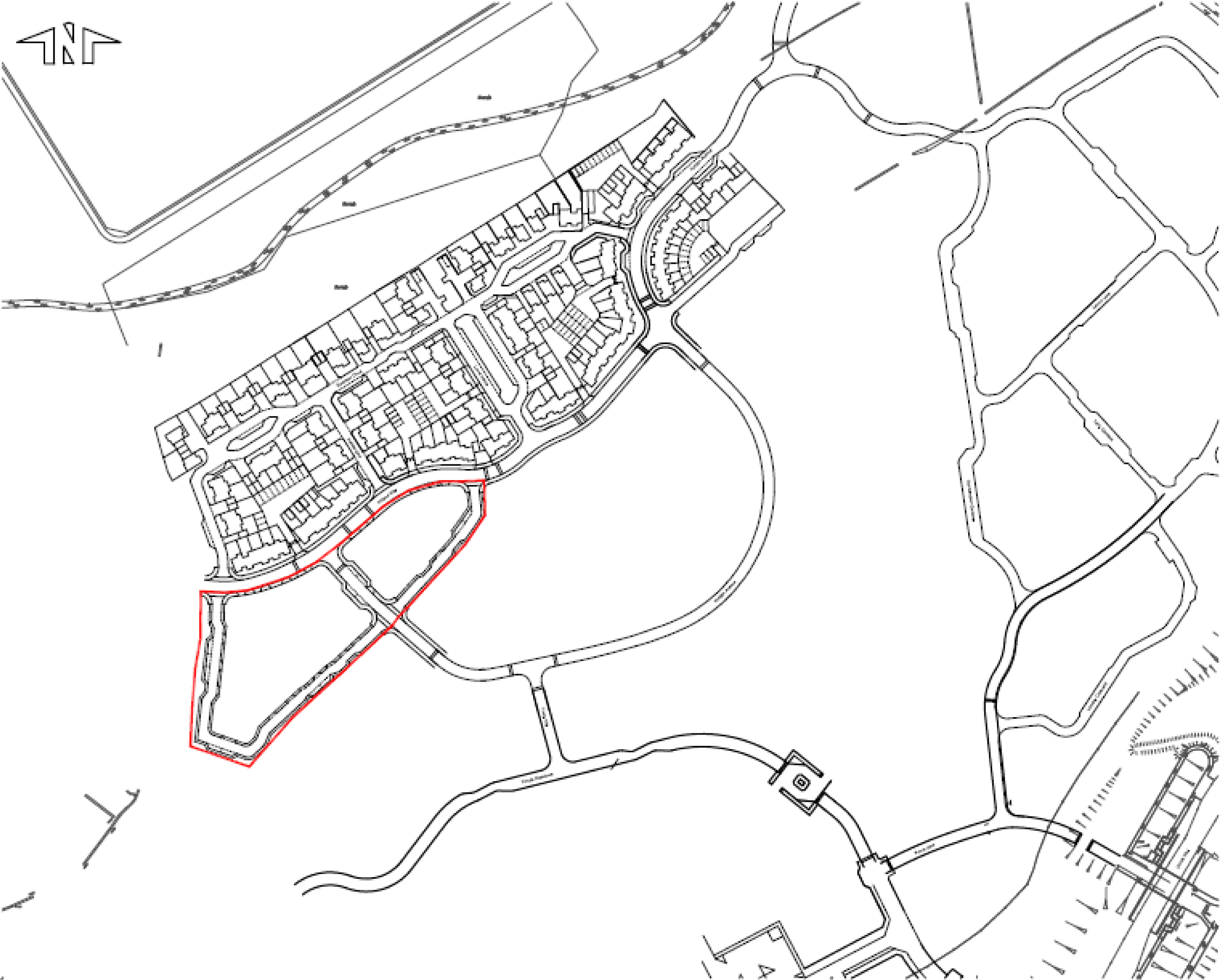 Oxley Park East Location Plan