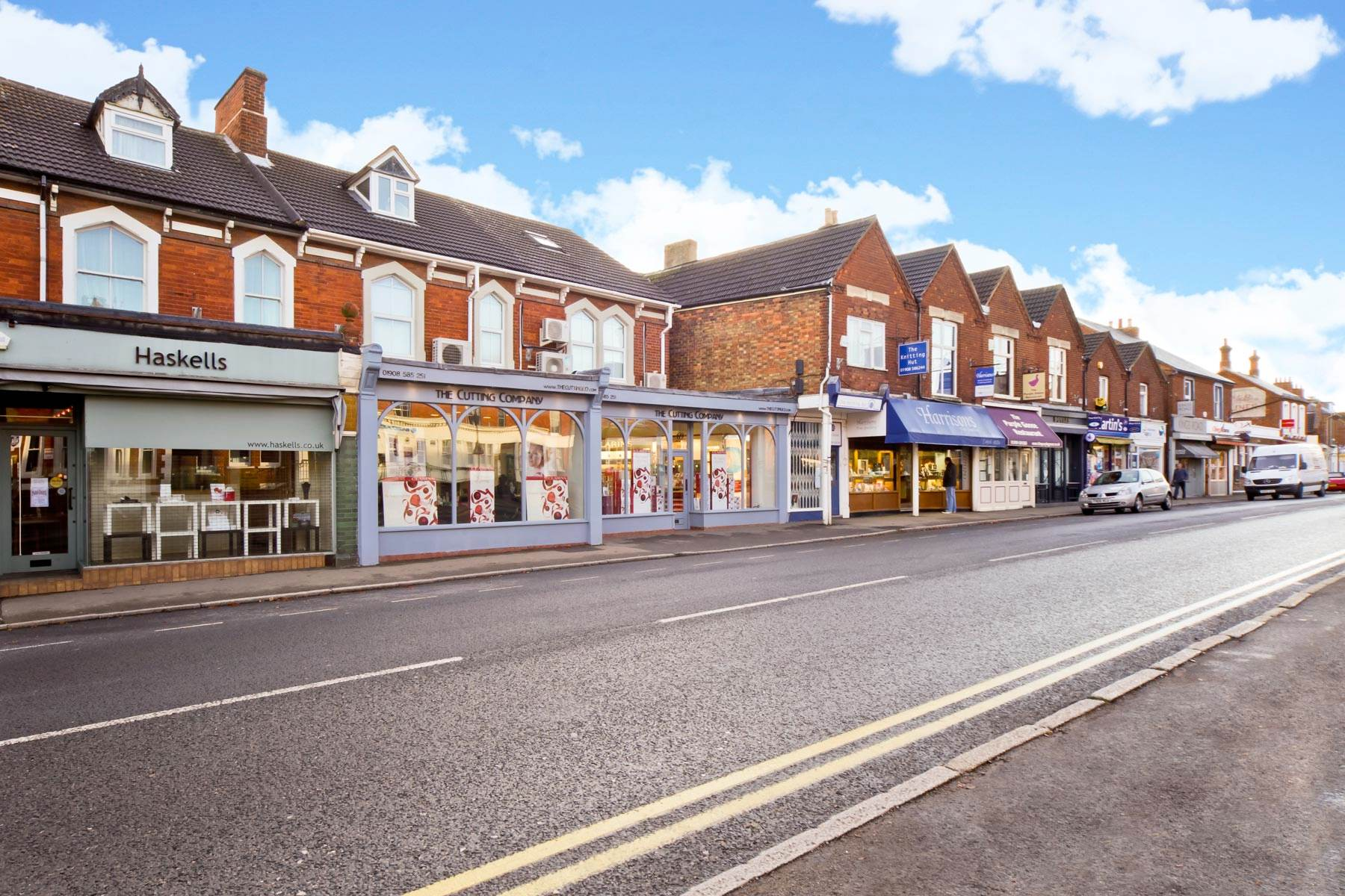 Photo of Woburn Sands high street