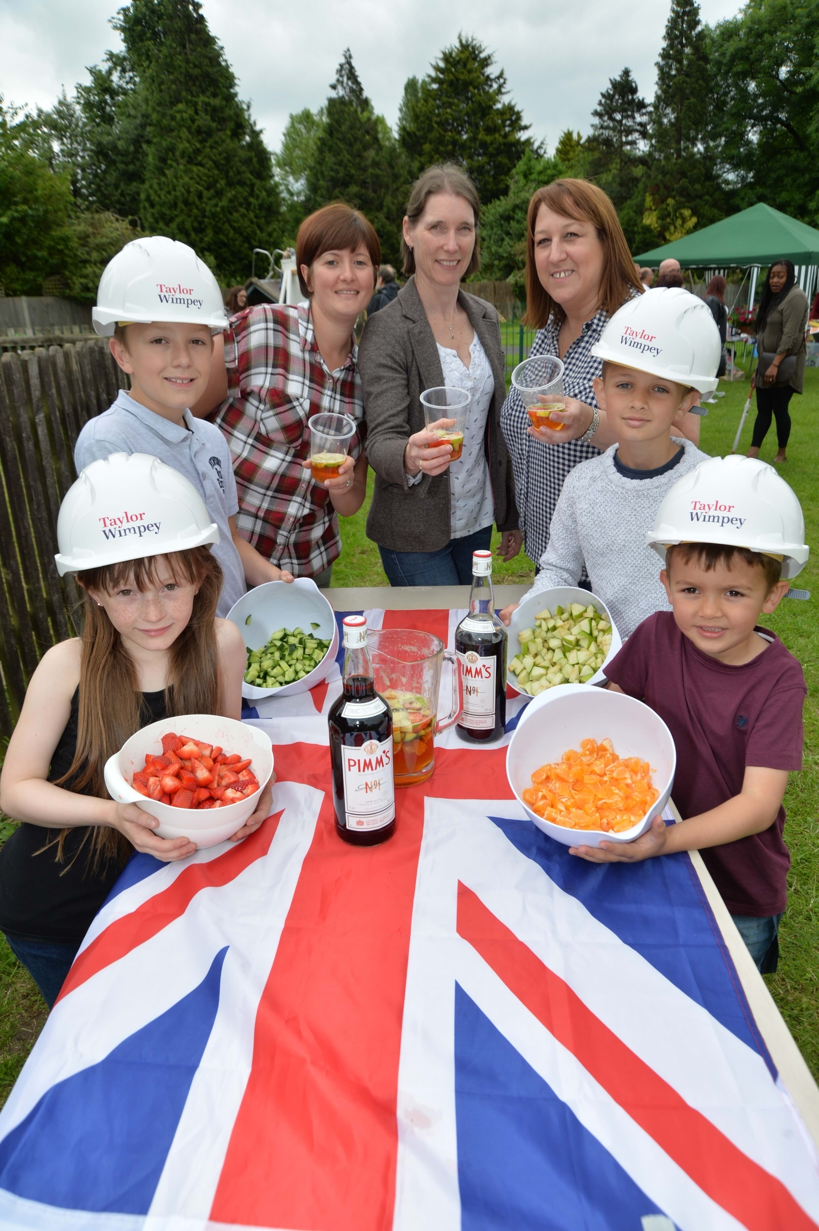 Taylor Wimpey  Parklands  St Marys Primary School Summer Fete  23JUN16