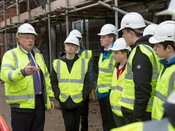 NEWS - TWSW - Local students get exclusive tour of new development