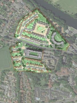 SW - BBC Llandaff - Masterplan - Website
