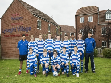 SW - Taylor Wimpey - Cromwell FC Under 14s