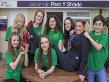 WEB SA15 Stage School at Parc Y Strade development