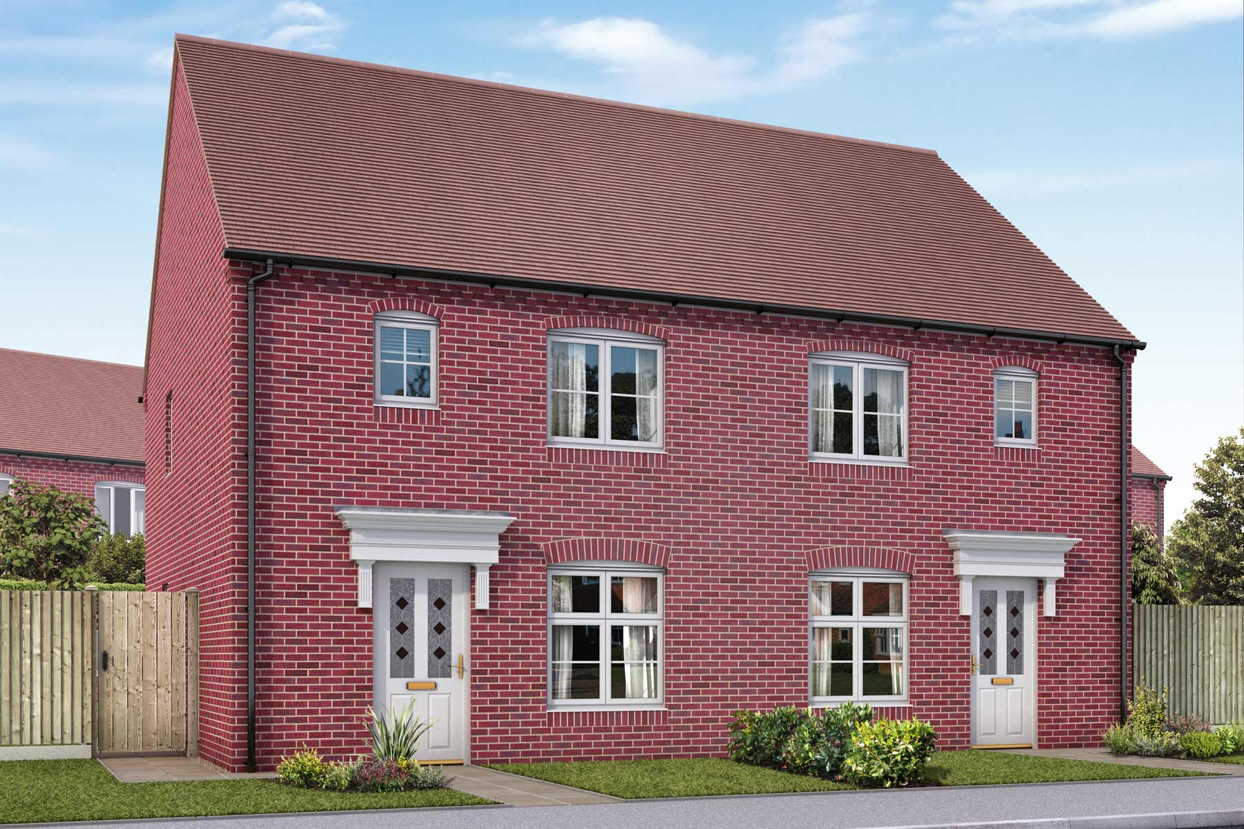 Artists impression of a typical Wessex home