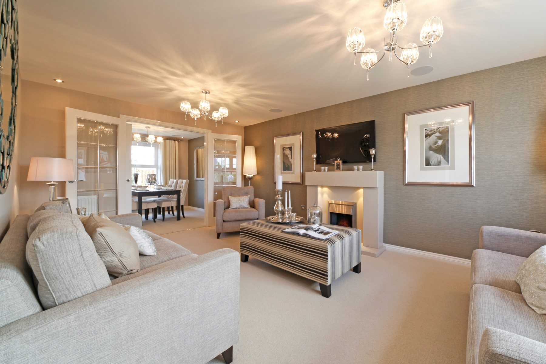 Eynsham Showhome Living Room