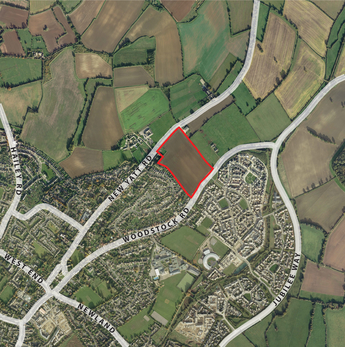 Witney Aerial Location Plan