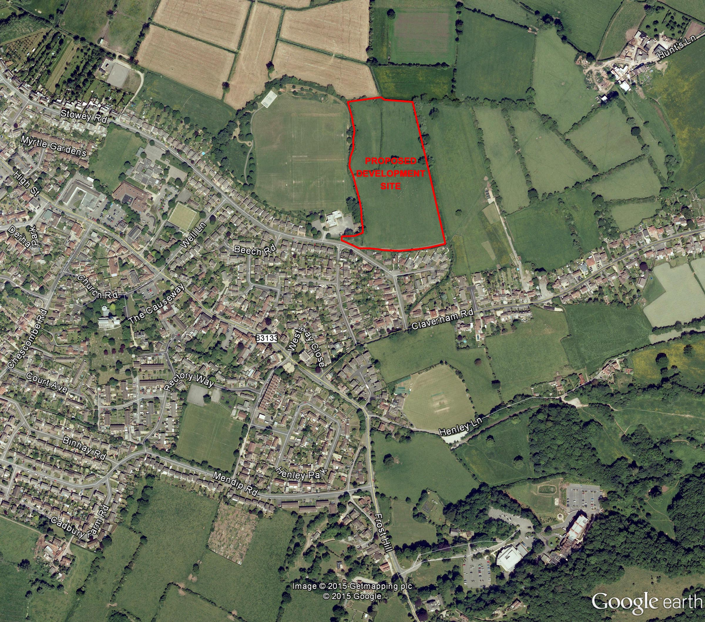 Yatton location plan web