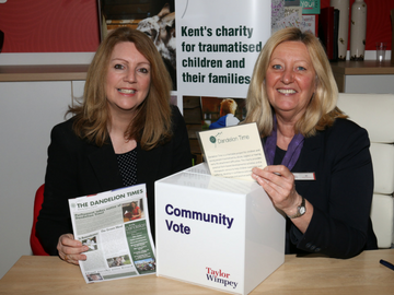 NEWS - TWST - Maidstone charity receives donation from local team