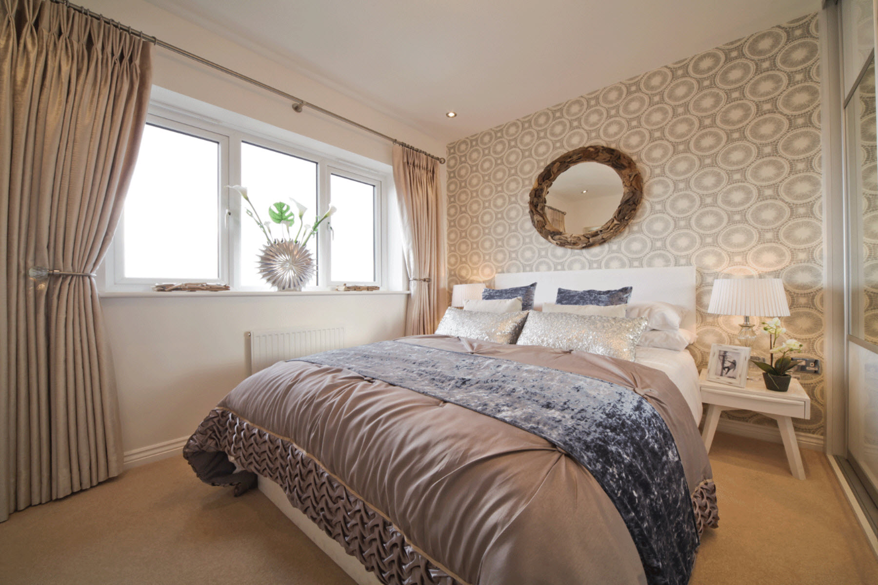 Cherry Tree Gardens Belford example bedroom