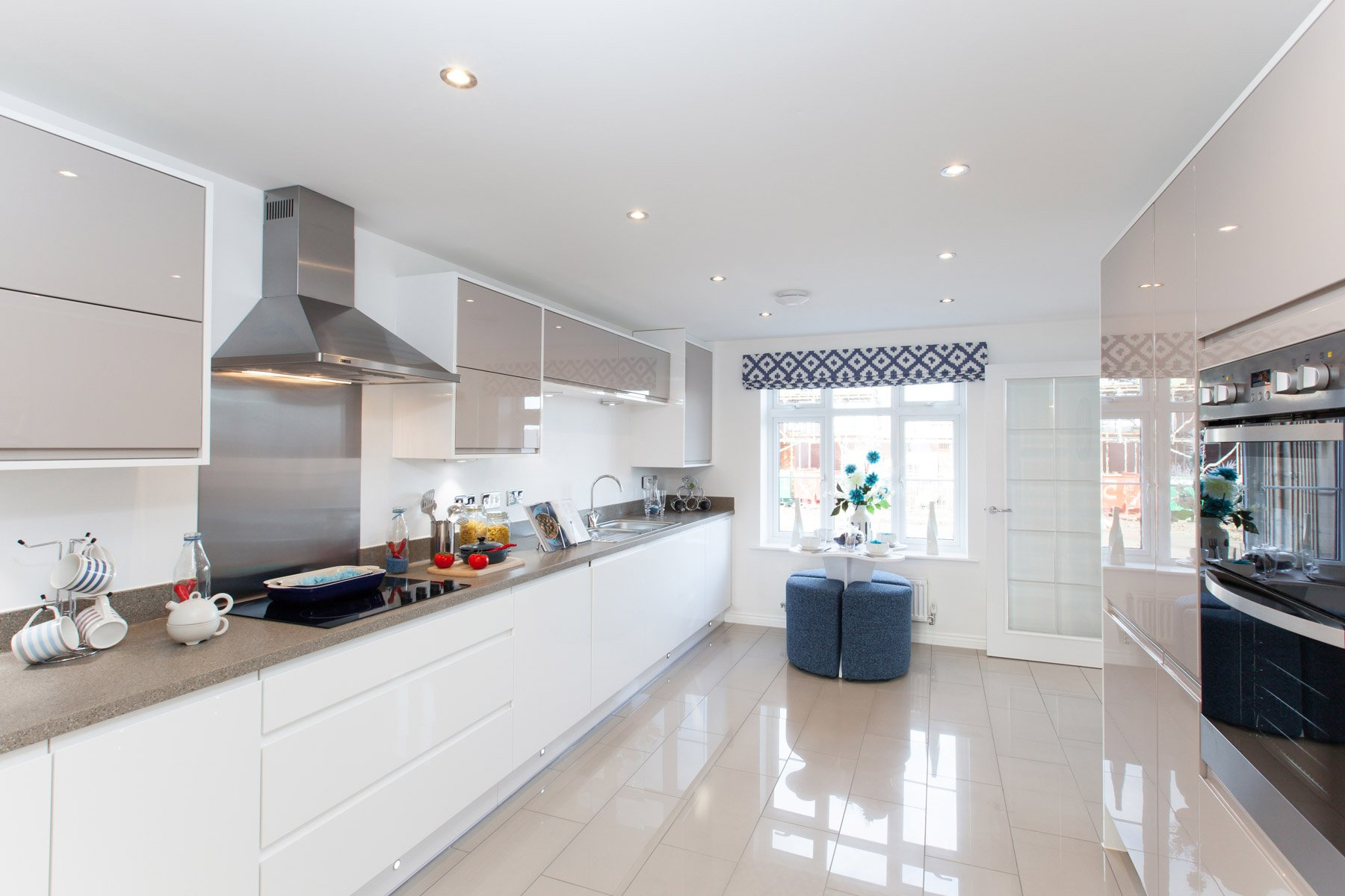 TW Exeter - Cornflowers at Cranbrook - Thornford example kitchen