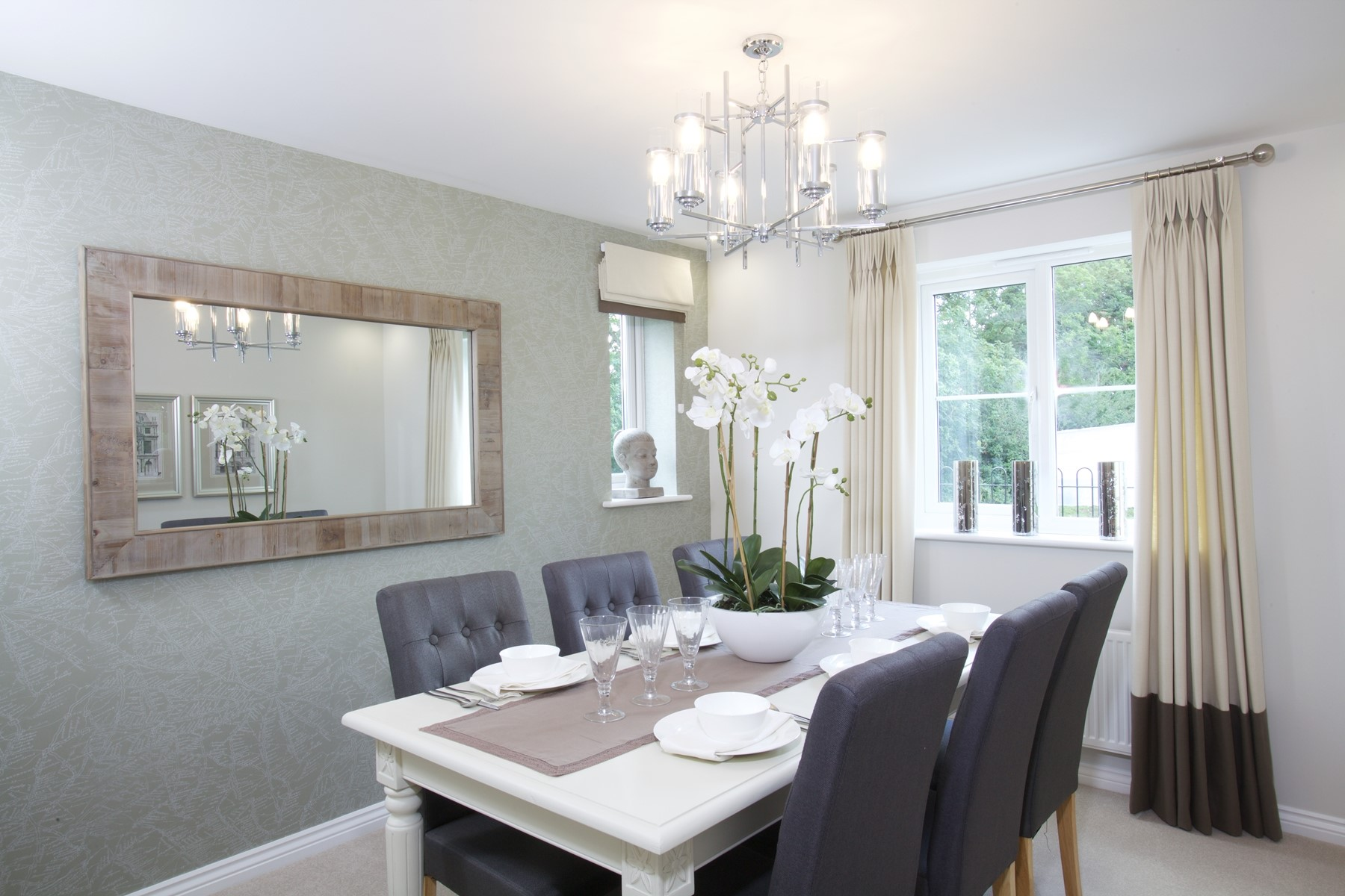 Typical Taylor Wimpey Dining Room