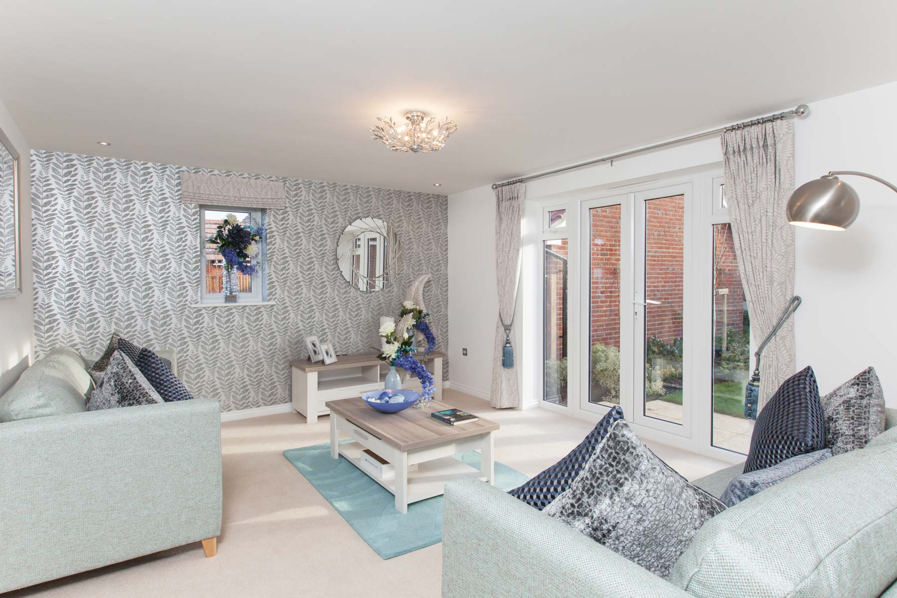TW Exeter - Chy Ryn Parc - Thornford example living room