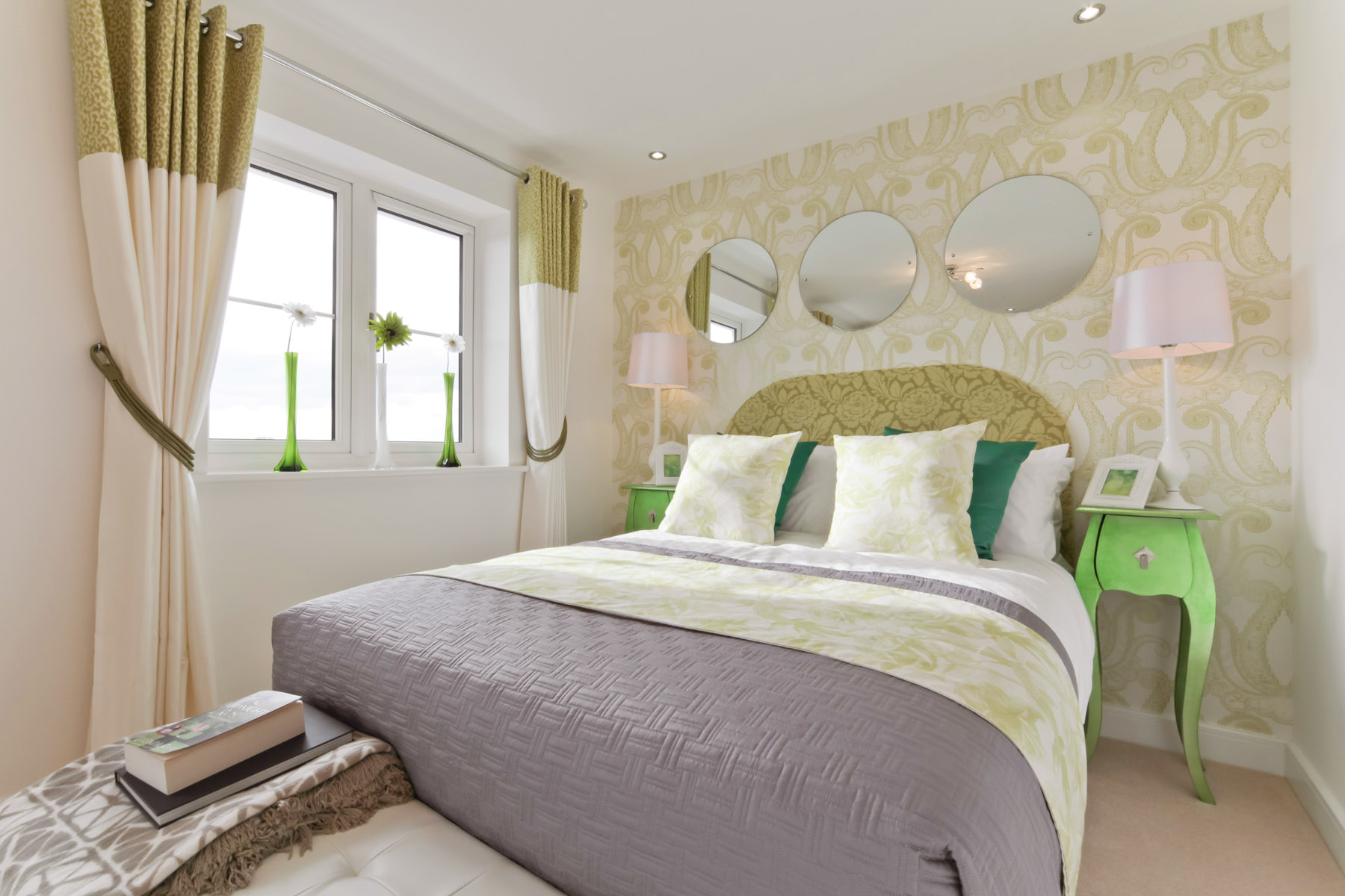 A Typical Taylor Wimpey Second Bedroom