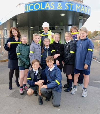 Image 1 - Taylor Wimpey - Walk to School -  St Nicolas and St Mary CE Primary School