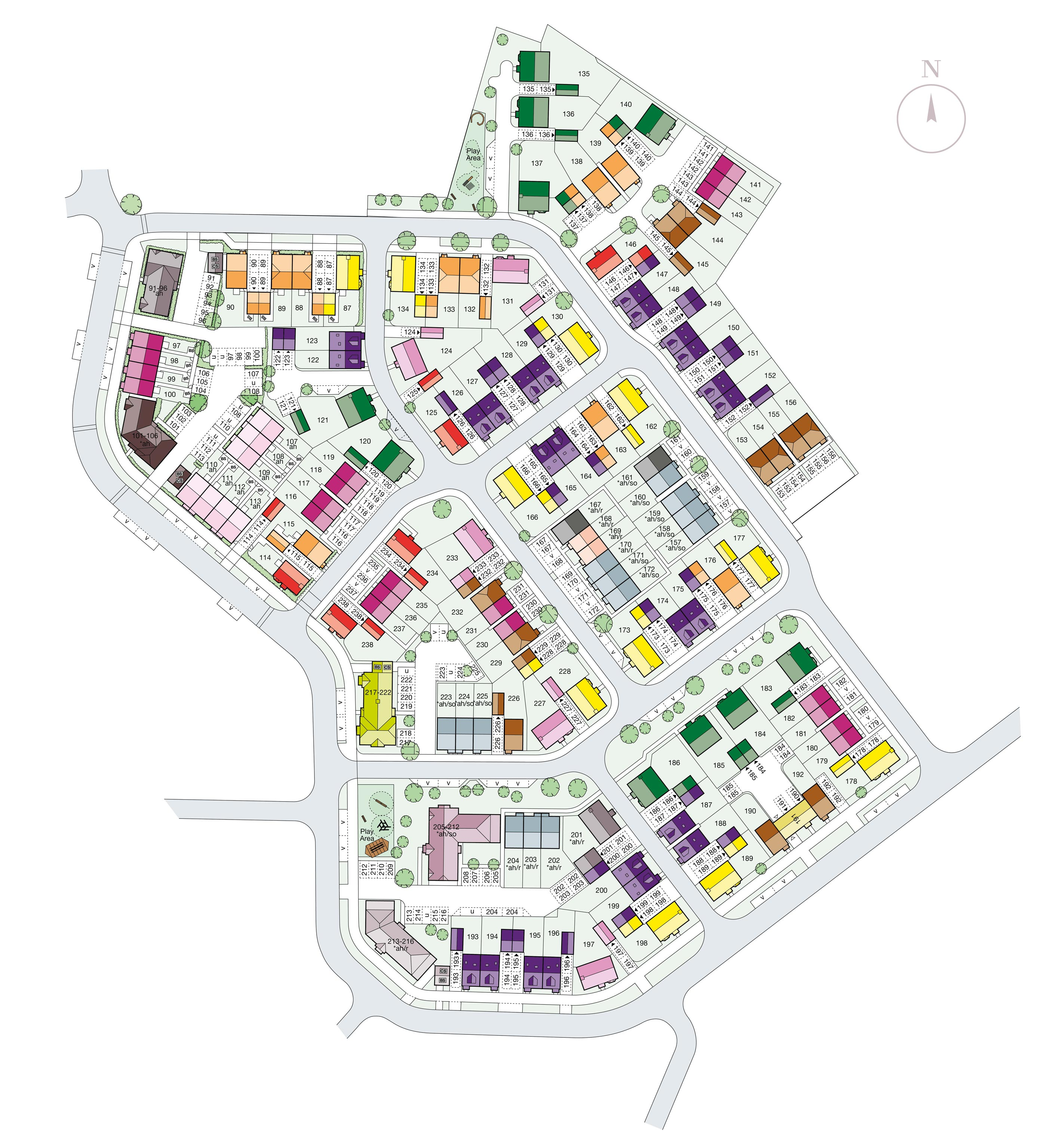 New westvale Siteplan Nov 18