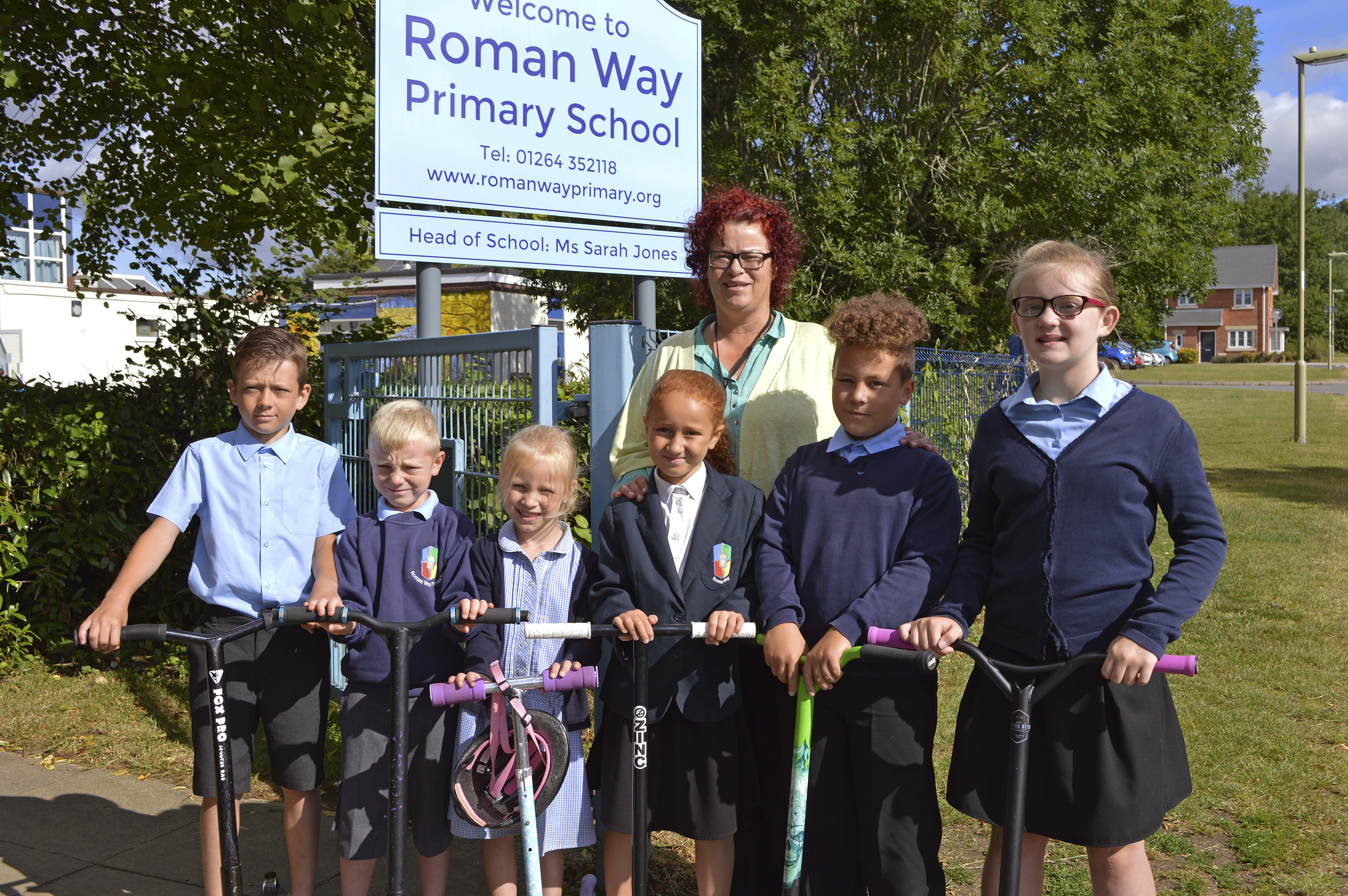Taylor Wimpey  The Chariots Saxon Heights  Roman Way Primary School Do