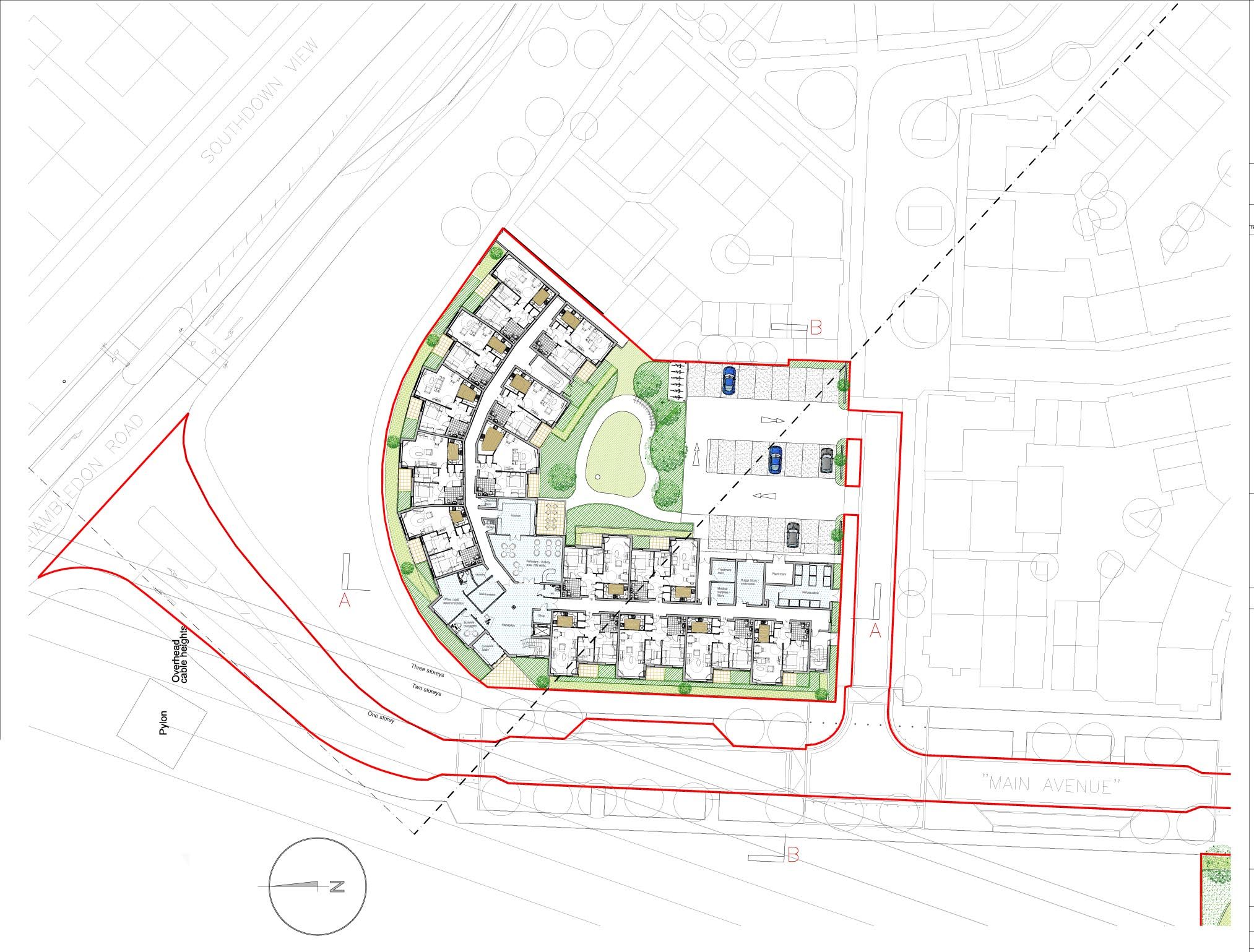 Extra Care Site Plan