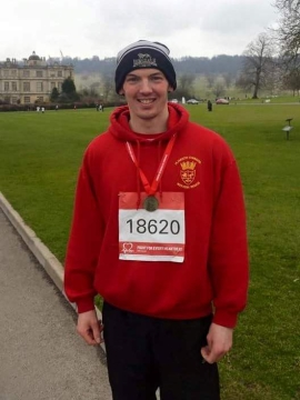 SC Roddy Webster at Half Marathon - WEB