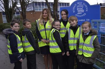 TWSC - Roman Way Primary High-Vis Donation - DEC14