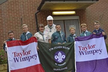 WEB  Strawberry Fields Kingfisher Grange  7th Ichen South Bursledon Scout Donation  Image 1
