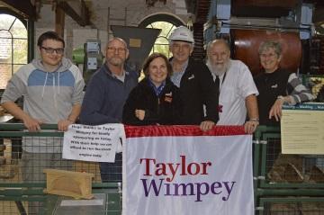 WEB Taylor Wimpey - Kingfisher Grange - Busledon Brickworks Donation