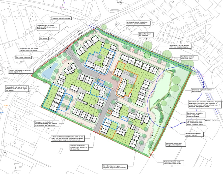 Bramley Park - Site Layout